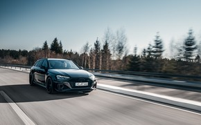 Picture Audi, speed, RS 4, ABBOT, RS4, Before, 2020