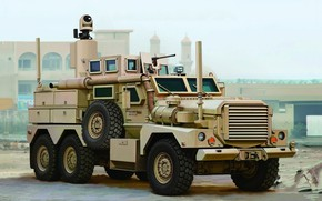 Picture Art, Cougar, Joint EOD Rapid Response Vehicle, U.S.Army, 6x6 JERRV, Armored car