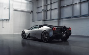 Picture coupe, rear view, V12, GMA, T.50, Gordon Murray Automotive, Type 50