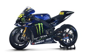 Picture Monster Energy, Motorsport, Sportbike, Yamaha YZR-M1