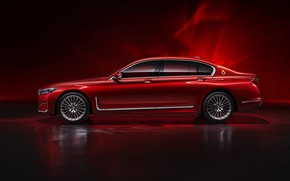 Picture BMW, sedan, side view, G12, 7, 7-series, 2019, Radiant Cadenza Immaculate Edition
