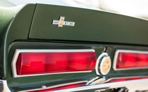 Picture Lights, Ford Mustang, 1967, Shelby GT350