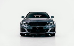 Picture BMW, front view, 3-series, universal, 3P, 2020, G21, M340i xDrive Touring