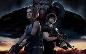 Picture characters, Resident Evil, Resident Evil 3, Resident Evil 3 (2020)