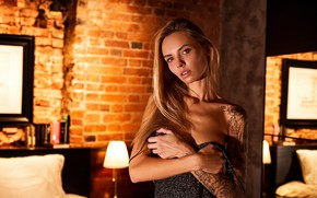 Picture model, Girl, tattoo, shoulders, Vlad Popov, Sasha Tale