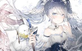 Picture Rabbit, Hatsune Miku, Vocaloid, Vocaloid, Hatsune Miku, yuki miku, yukine