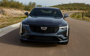 Picture Cadillac, sedan, front view, four-door, 2020, CT4-V