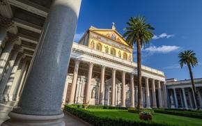 Picture Rome, Italy, Basilica Of St. Paul, San Paolo-Fuori-Le-Mura