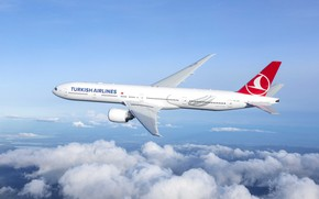 Picture plane, boeing 777, turkish airlines