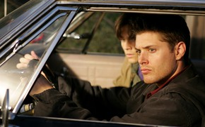 Picture Sam, supernatural, Dean, Jared Padalecki, Jensen Ackles, sverkhizluchenie, винчестеры