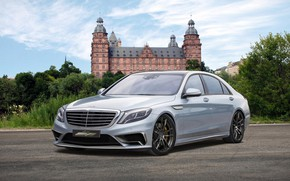 Picture Mercedes-Benz, sedan, W222, S65 AMG, The S-class, Voltage Design, the sixth generation of flagship series