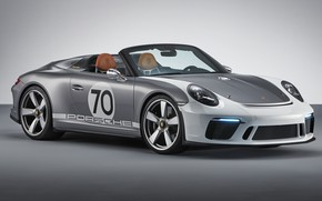 Picture Concept, 911, Porsche, 2018, Speedster