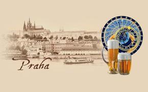 Picture beer, Prague, Czech Republic, Vltava, Praha, by Pyrus-acerba, коллекция городов