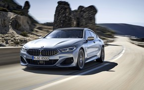 Picture BMW, Gran Coupe, 8-Series, 2019, M850i, XDrive, G16