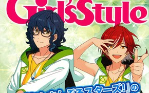 Picture smile, group, advertising, guys, Ensemble Stars!, Ensemble stars