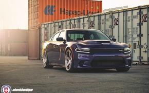 Picture Purple, Dodge Charger, Hellcat, SRT