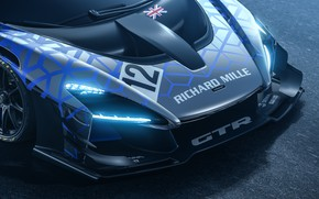 Picture The hood, Before, Supercar, Sports, McLaren Senna GTR