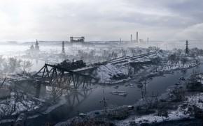 Picture background, the game, Metro: Exodus