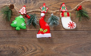 Picture decoration, background, Christmas, New year, garland