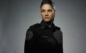 Picture look, pose, the series, Missy Peregrym, Missy Peregrym, Rookie blue, Rookie Blue, Andy McNally