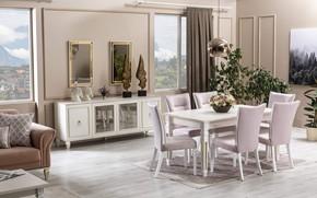 Picture design, style, interior, dining room, vega, dining room
