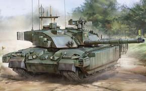 Picture UK, jason, main battle tank, MBT, Challenger 2 TES, Challenger 2. British Army