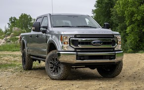 Picture grey, Ford, front, pickup, Super Duty, F-350, Tremor, 2020, Off-Road Package, F-series