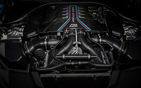 Picture engine, BMW, motor, 2018, Biturbo, 625 HP, M5, V8, F90, 4.4 L., M5 Competition