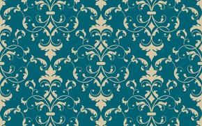 Picture blue, retro, background, Wallpaper, pattern, vintage