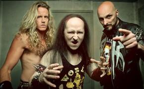 Picture metal, Dante, band, Venom, Cronos, La Rage, Danny Needham, Conrad Lant, Stuart Dixon