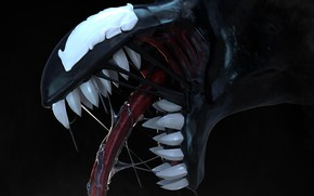 Picture teeth, Venom, Venom, symbiote
