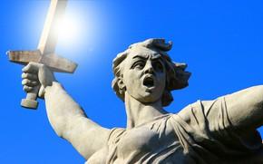 Picture Memory, Volgograd, Closeup, Volgograd, Mamaev Kurgan, Mamayev Kurgan, The Motherland calls, The Motherland Calls