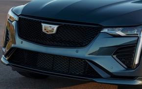 Picture Cadillac, the hood, before, grille, sedan, four-door, 2020, CT4-V