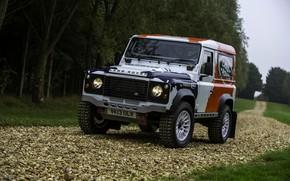 Picture SUV, Land Rover, Defender, 2013, 2014, Challenge, Bowler