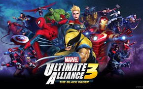 Picture the game, characters, marvel, Marvel Ultimate Alliance 3: The Black Order