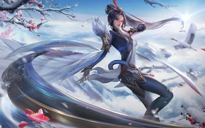Picture China, Style, Asian, Girl, Costume, China, Fantasy, Art, Asian, Style, Magic, Illustration, Concept Art, Characters, …