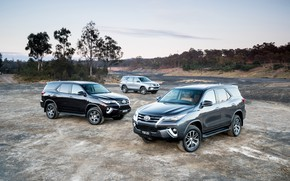 Picture photo, Toyota, Cars, SUV, Metallic, Fortuner
