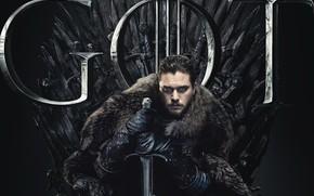 Picture Game of Thrones, Game of thrones, Season 8, Jon Snow, Season 8