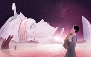 Picture girl, pair, guy, two, 002, Darling In The Frankxx, Cute in France