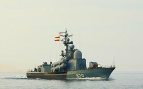 Picture sea, boat, rocket, Baltika, Chuvashia