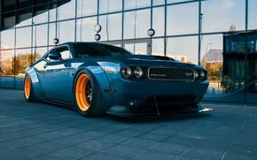 Picture Auto, Machine, Dodge, Challenger, Car, SRT, Transport & Vehicles, Dodge Challenger Liberty Walk, Widebody Workshop, …