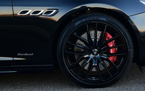 Picture Maserati, Quattroporte, wheel, 2018, GTS, AU-spec, GranSport, Nerissimo Edition