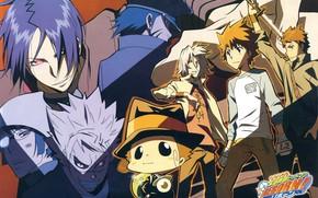 Picture characters, cover, Katekyo Hitman Reborn!, Teacher mafia Reborn