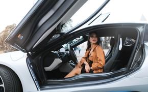 Picture machine, auto, girl, pose, driving, Belavin, Alexander Belavin