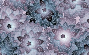 Picture flowers, background, design, pattern, floral
