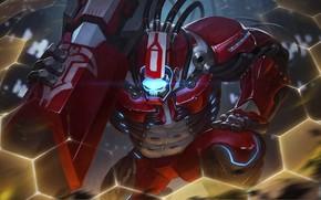 Picture robot, hon, cyborg, art, Heroes of Newerth, Behemoth