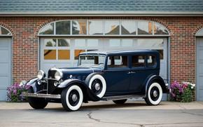 Picture auto, Lincoln, retro, 1932, KB 5-passenger