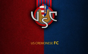 Picture wallpaper, sport, logo, football, Italian Seria A, US Cremonese