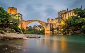 Picture Mostar, Mostar Bridge, Bosnia Herzegovina