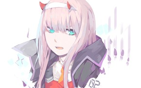 Picture girl, traces, tenderness, 002, Darling In The Frankxx, Cute in France, Zero Two